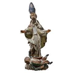 Sculpture of St Valentine, 17th Century