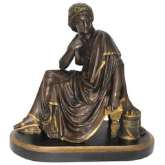 Sculpture of the Roman Poet Virgil after Albert-Ernest Carrier-Belleuse