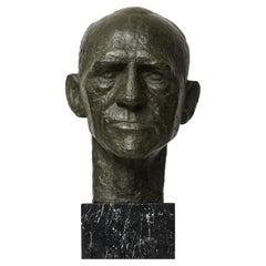 Sculpture Portraying General Harald Petri