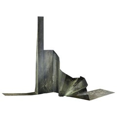 Sculpture Steel Mid-Century Modern Abstract Expressionist