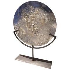 Sculpture Transmutation XLA2, Exploded Pewter in a Melting Pot
