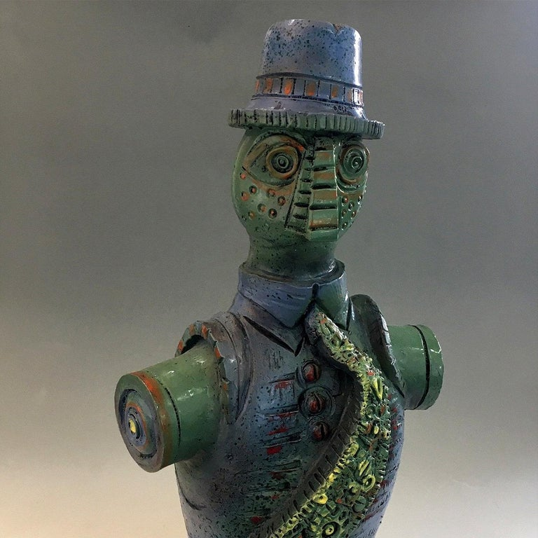 Italian Sculpture with a Tie 2019 For Sale