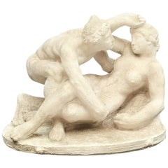 Sculpture with Erotic Theme by Gerhard Henning