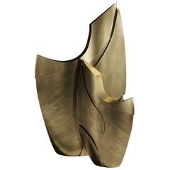 Sculptures Made in Bronze-Patina Brass by Patrick Coard Paris