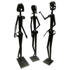 "Sculptures of Three ""Parisian"" Women"