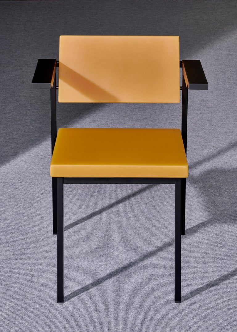 Edition of 25, signed and numbered  The SE69 was designed by Martin Visser exactly 60 years ago in 1959.  Sabine's signed and numbered Limited Edition of 25 is an homage to Visser's achievement in Dutch furniture design. Visser aimed to design