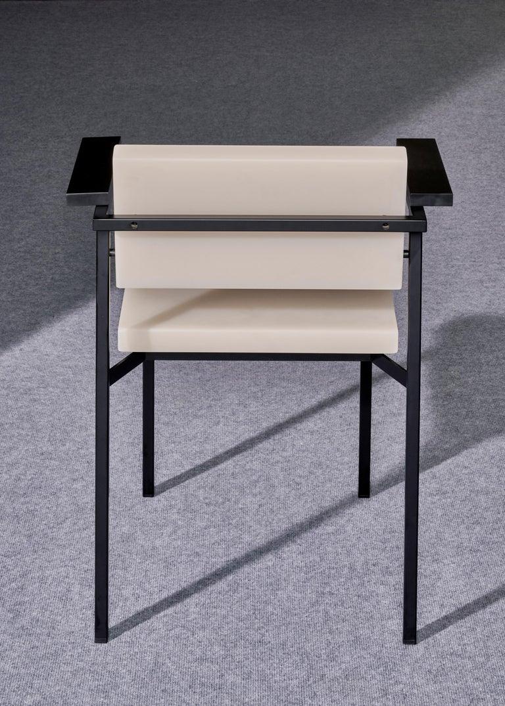 Steel SE69 Chair 2019 by Sabine Marcelis For Sale