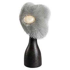 'Sea Anemone' Table Light with Black Bronze by Pia Maria Raeder