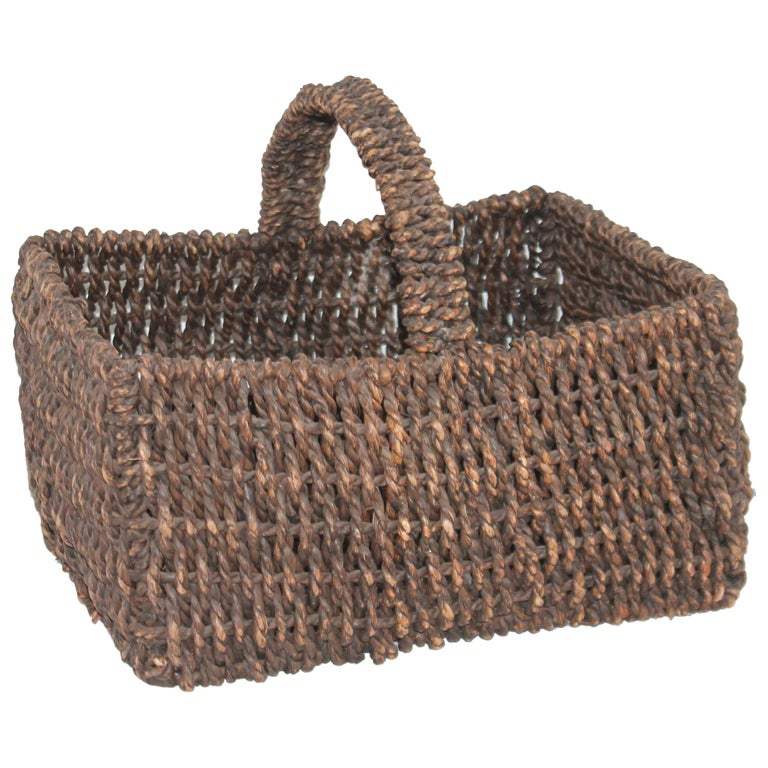 Sea Grass Basket For Sale
