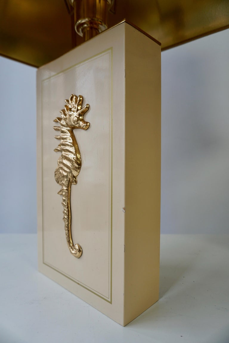 Sea Horse Set of Two Table Lamps For Sale 2