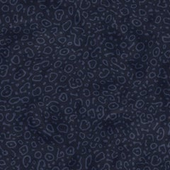 Sea Ray Designer Wallpaper in Ultramarine 'Denim and Navy Blue'