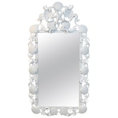 Sea Shell Iron Mirror