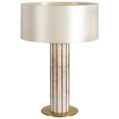 Seagram Table Lamp, Estremoz Marble, InsidherLand by Joana Santos Barbosa