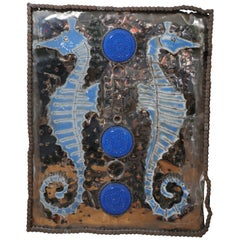 Seahorse Metal Artwork