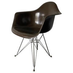 Seal Brown Herman Miller Eames DAR Armchair