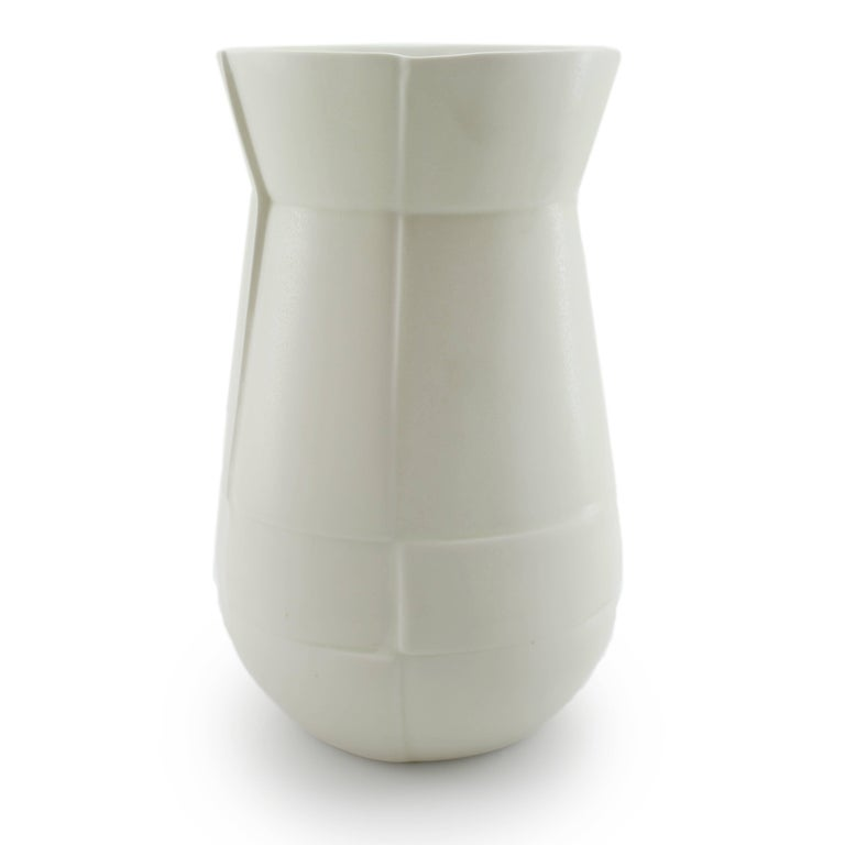 -This American made flower vase will add contemporary design to your home decor. Ideal for a large luxurious bouquet or a centerpiece, the Seam Drop Vase is designed to be a modern statement piece. 