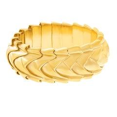 Seaman Schepps Fabulous 1950s Gold Bracelet