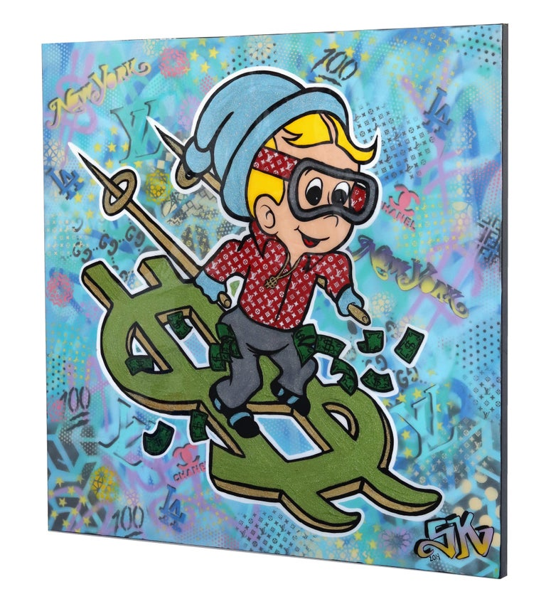 Skiing To The Bank For Sale 1
