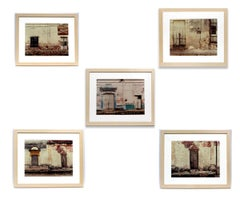 A Set of Five Original Photographs Sean Scully Pueblo Museum COA Rare Important