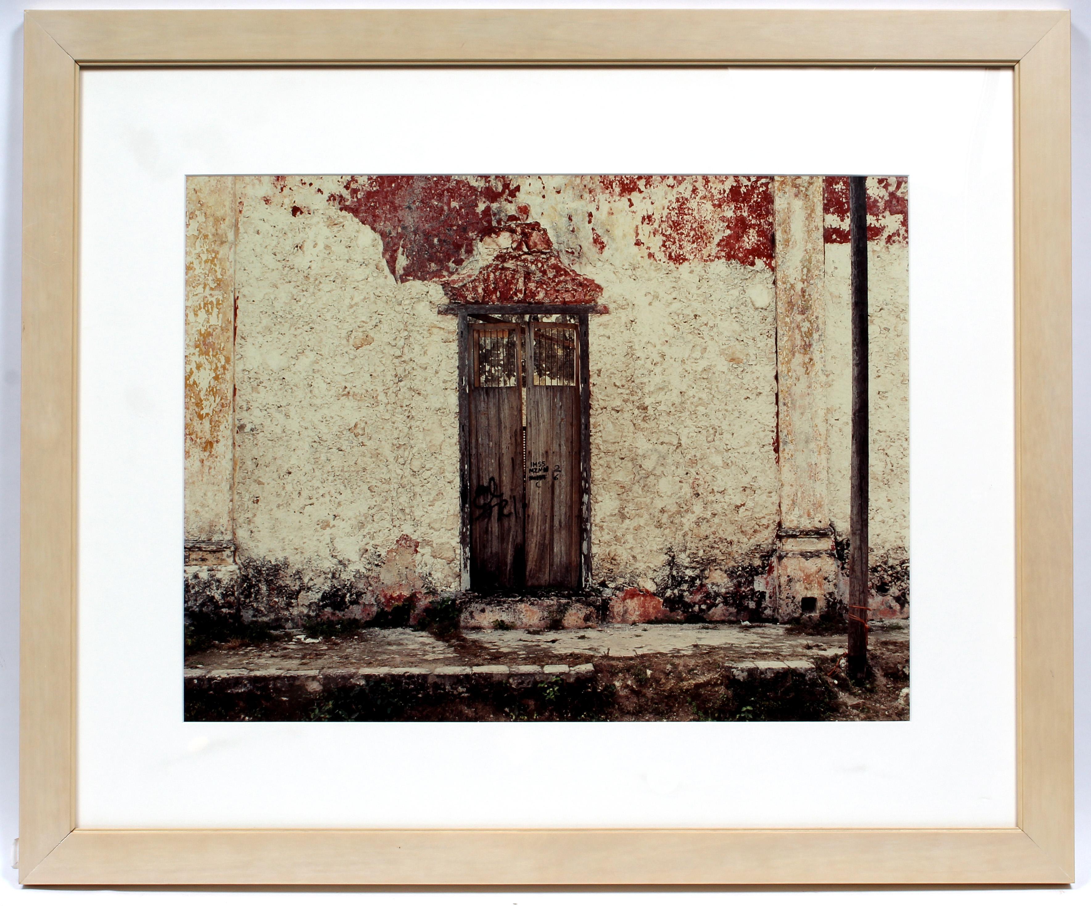 An Original Photograph Sean Scully Pueblo Museum COA Rare Important Mexico