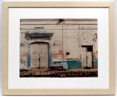 An Original Photograph Sean Scully Pueblo Museum COA Rare Important Mexico