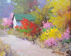 Color Cultivated (flowers, red, pastels, landscape)
