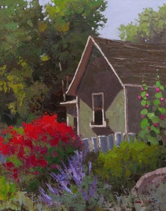 Colorful Homestead (house, flowers, summer)