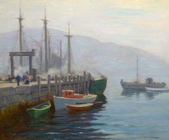 Misty Morning, Monhegan Harbor