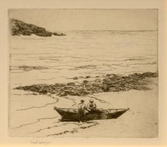 Fishermen, Fish Beach, Monhegan