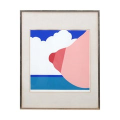Seascape Print by Tom Wesselmann, 1967