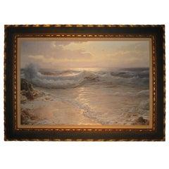 "Seascape ""The Waves"" By O. Campagnana"