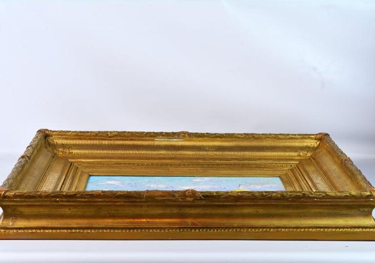 'Summer Regatta' by Niek van der Plas, Well Listed Dutch Impressionist For Sale 1