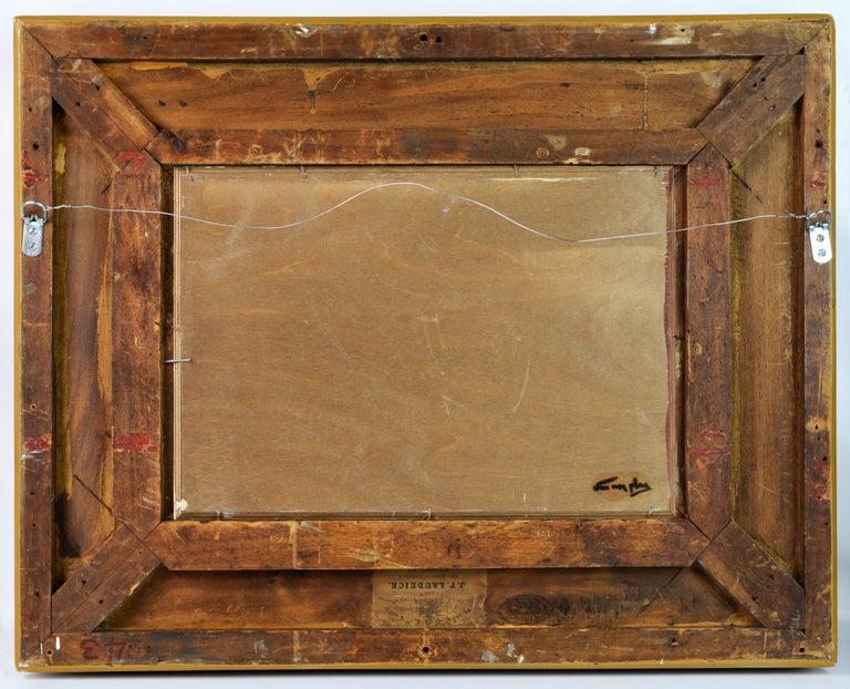 'Summer Regatta' by Niek van der Plas, Well Listed Dutch Impressionist For Sale 2