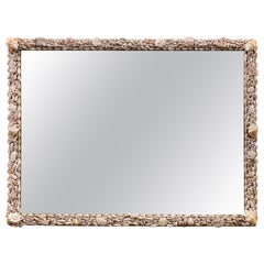 Seashell Encrusted Mirror