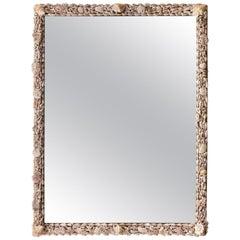 Seashell Encrusted Mirror