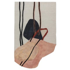 Seated Nude Doodles Rug by Faye Toogood for CC-Tapis
