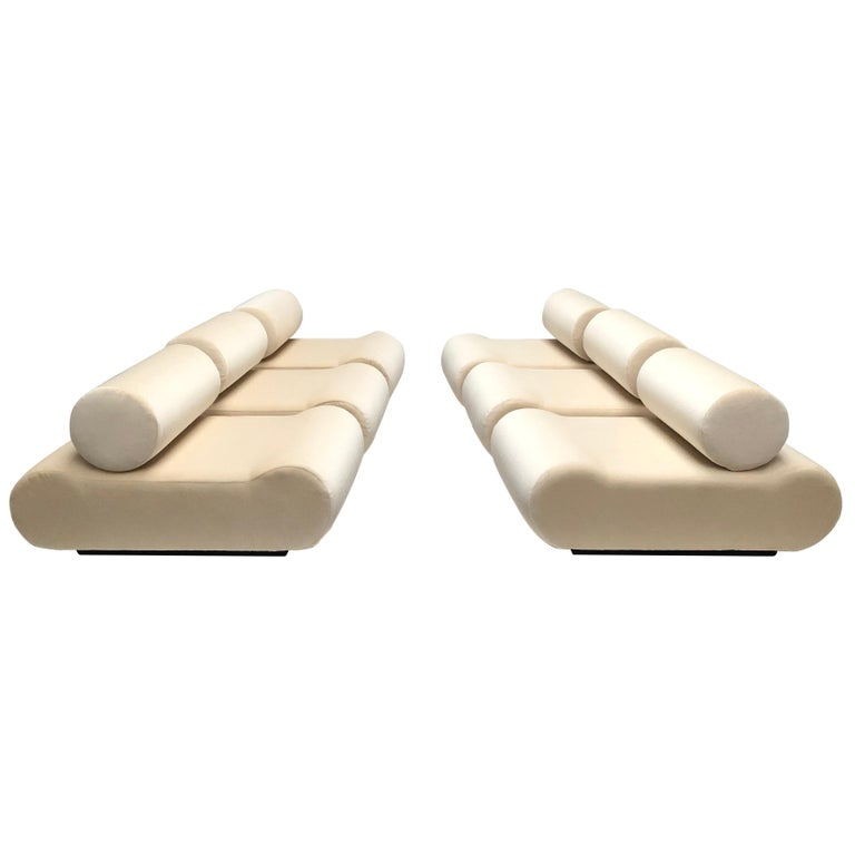 Seating as Minimalist Sculpture, 6 Elements, Klaus Uredat, 1969 for COR, Germany For Sale