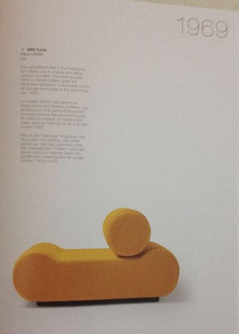 Seating as Minimalist Sculpture, 6 Elements, Klaus Uredat, 1969 for COR, Germany For Sale 1