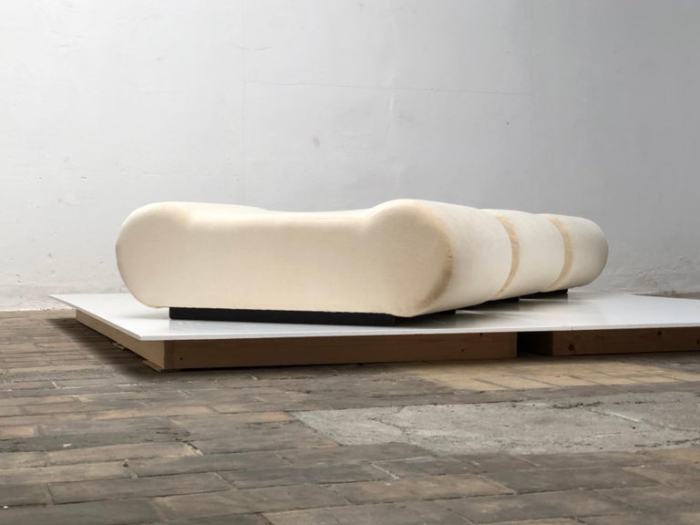 Seating as Minimalist Sculpture, 6 Elements, Klaus Uredat, 1969 for COR, Germany For Sale 3