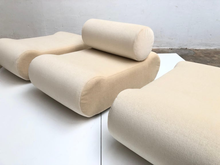 Seating as Minimalist Sculpture, 6 Elements, Klaus Uredat, 1969 for COR, Germany For Sale 4