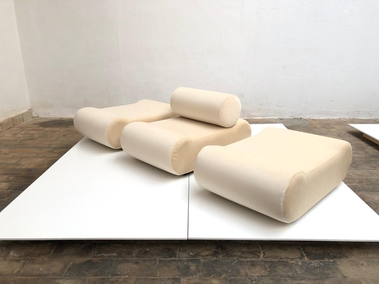 Seating as Minimalist Sculpture, 6 Elements, Klaus Uredat, 1969 for COR, Germany For Sale 6