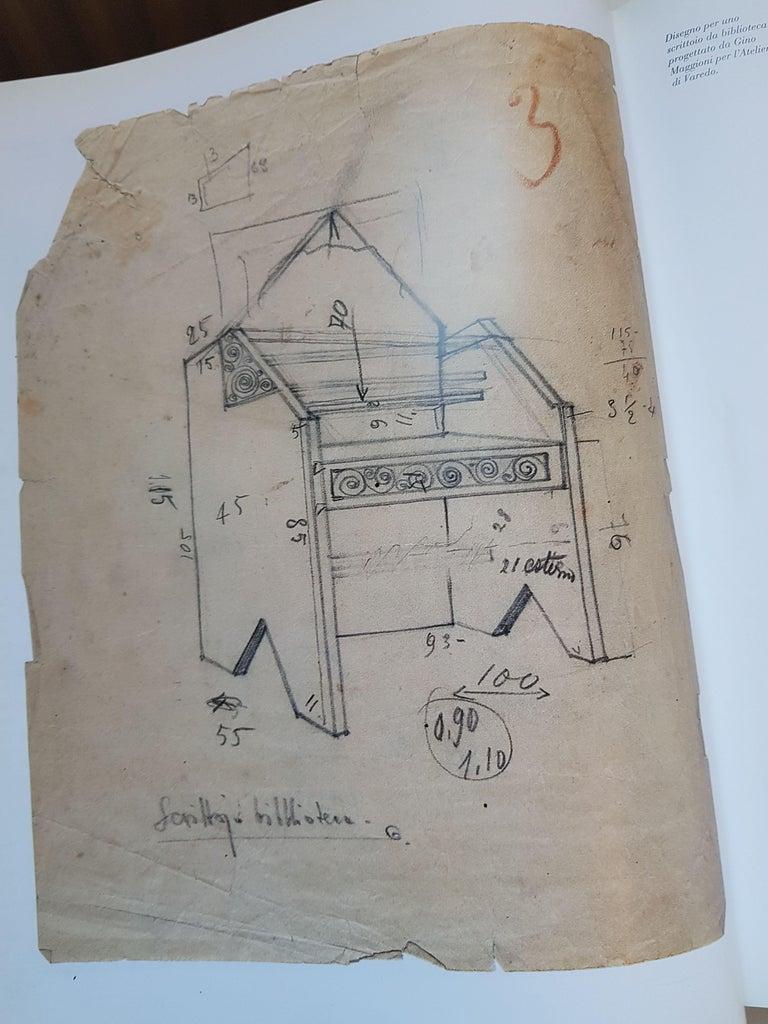 Italian Seating Unit by Gino Maggioni for Atelier Borsani For Sale