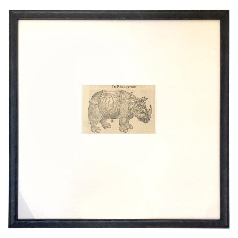 Sebastian Münster 16th Century Woodcut  Print Animal Exotics For Sale