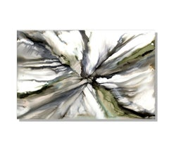 Metal Wall Art, Contemporary Painting, Modern Abstract Print on Metal, Sebastian