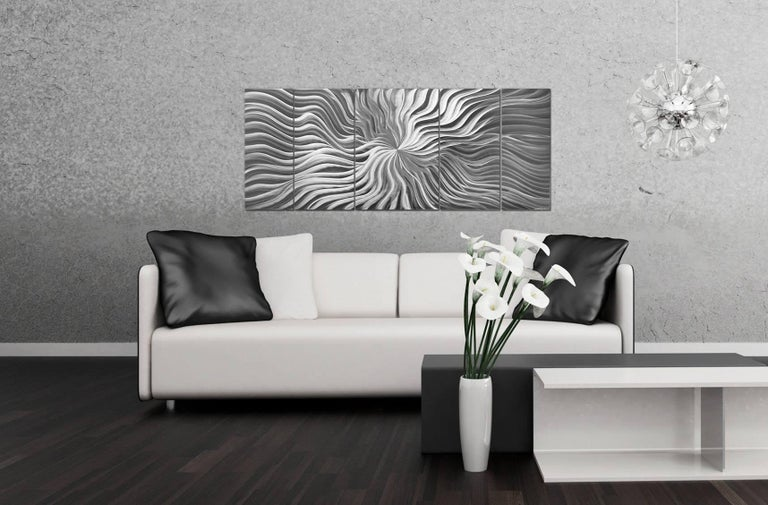 Sebastian R. Original Modern Metal Abstract Wall Art Deco Sculpture Contemporary 2