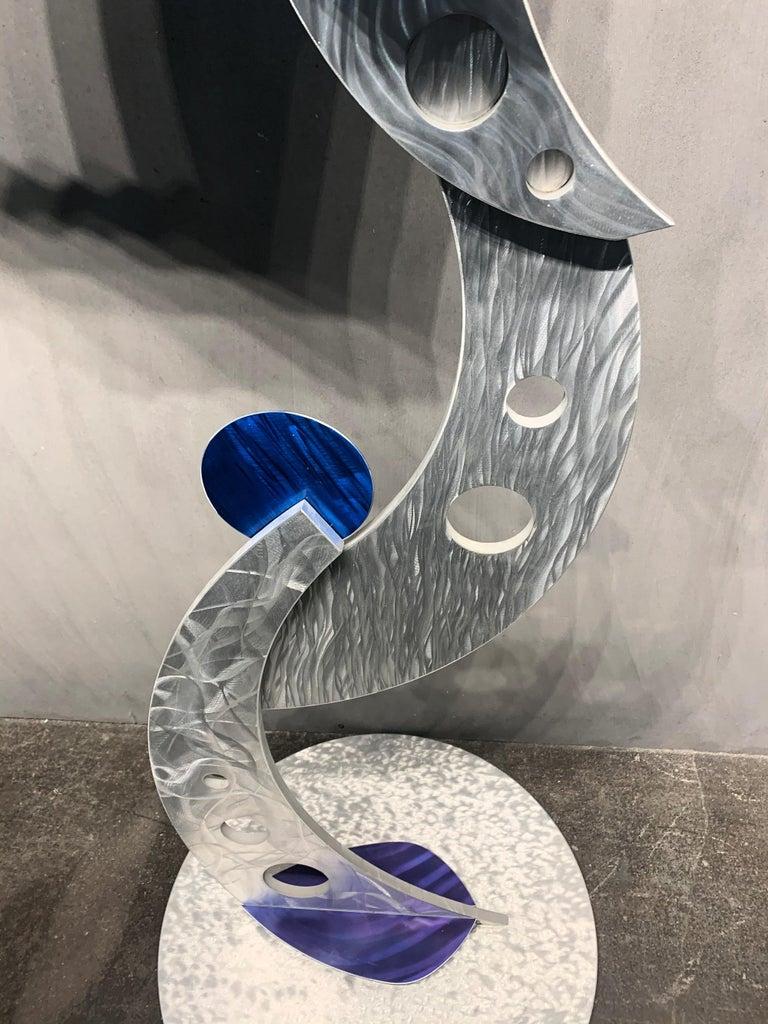 Indoor Outdoor Modern Metal Yard Garden Art Industrial Sculpture Contemporary For Sale 9