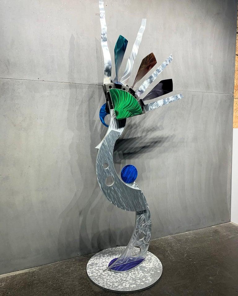 Indoor Outdoor Modern Metal Yard Garden Art Industrial Sculpture Contemporary For Sale 4