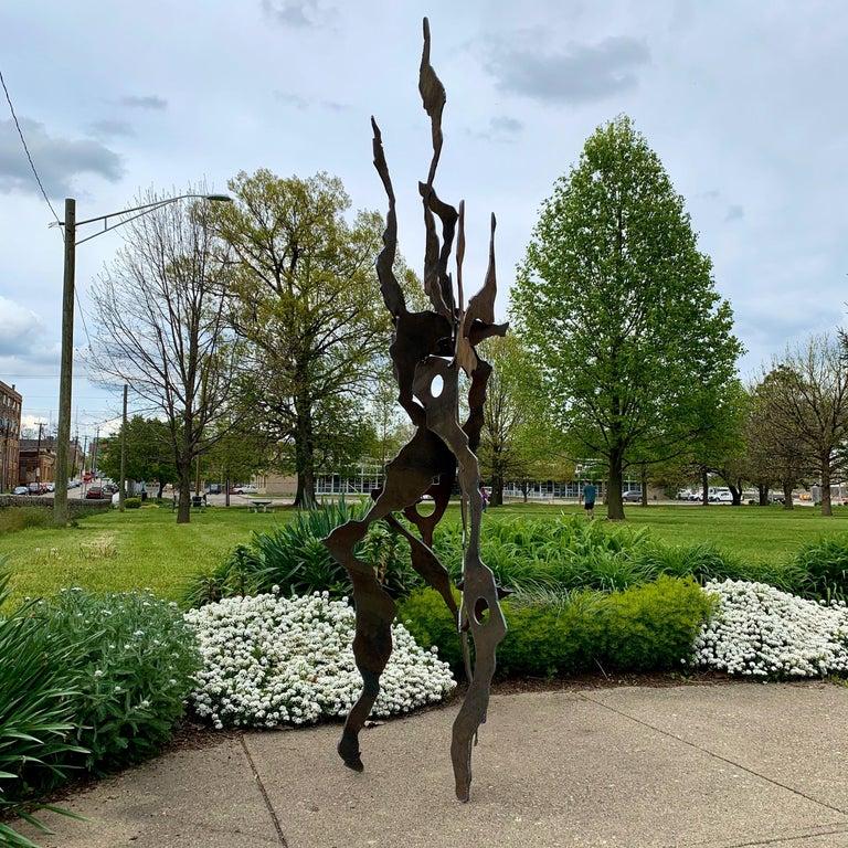 Outdoor Metal Lawn Sculpture Modern