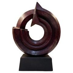 Sebastian Sculpture by Enrique Carbajal Gonzalez Modern Bronze 2003 Mexico