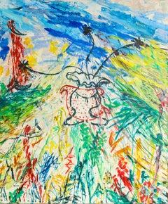 "Contemporary Painting ""Gypsy Romance (to Lorca)"" by Sebastian Vallejo"